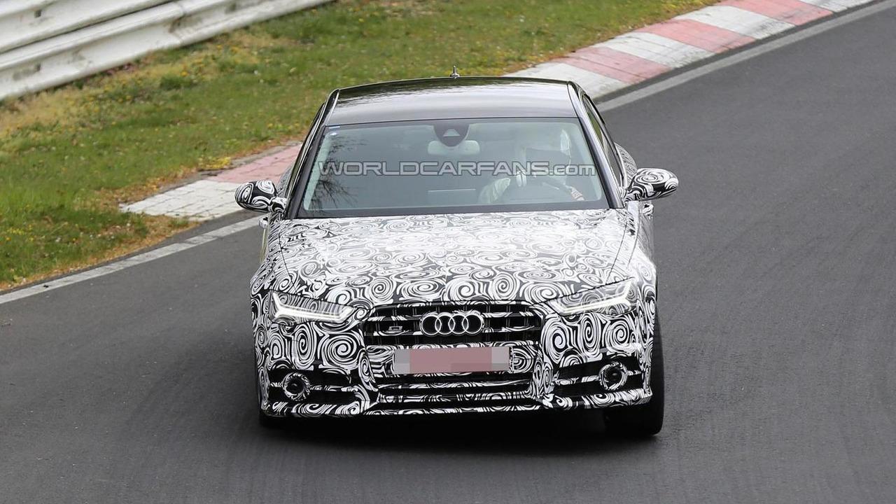 2015 Audi S6 spy photo