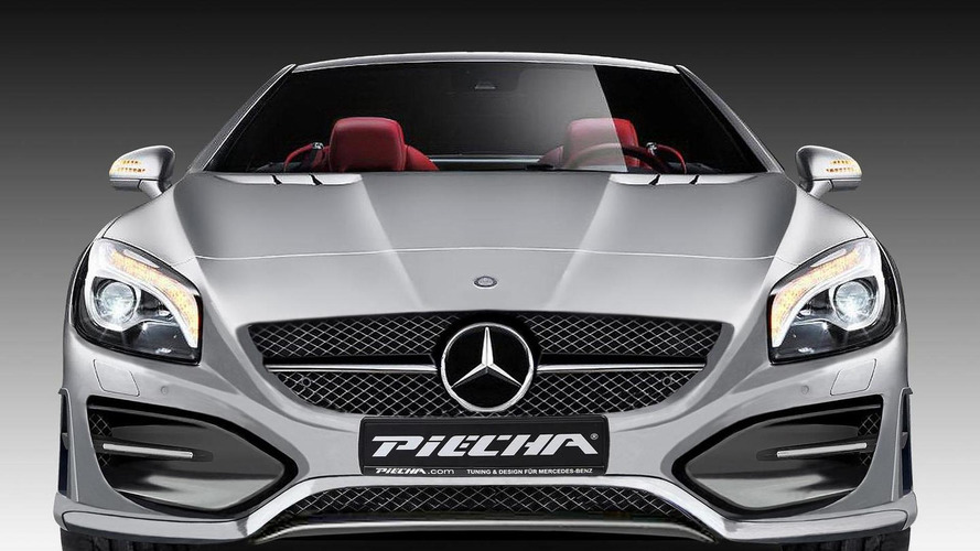 Mercedes SL Avalange GT-R announced by JMS and PIECHA Design