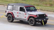 Jeep Wrangler spy photo