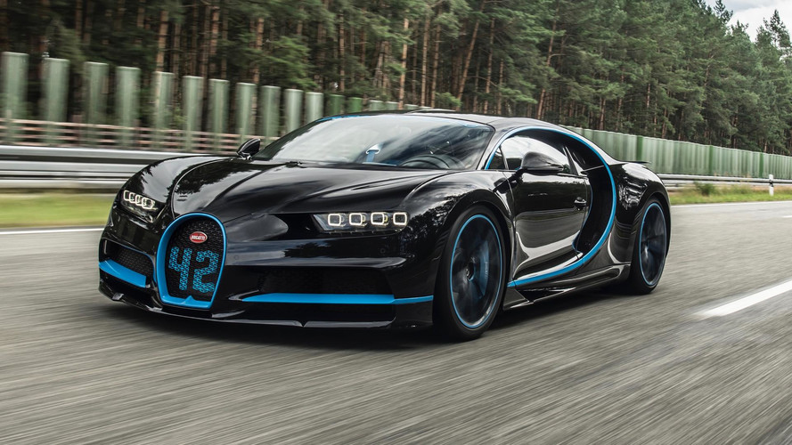Former F1 Driver Montoya Sets World Record In Bugatti Chiron