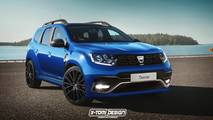 2018 Dacia Duster GT render