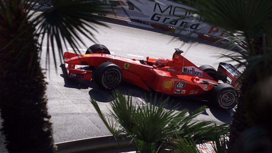 Sale a subasta el Ferrari F2001 de Schumacher