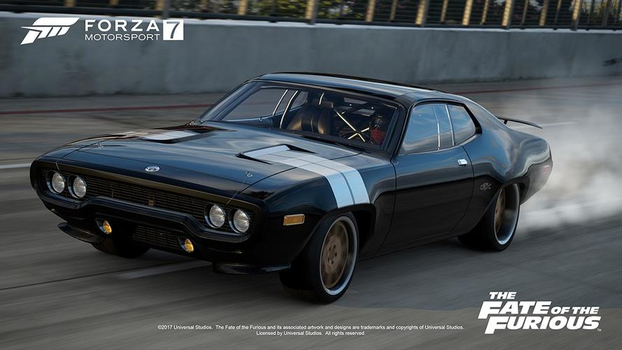 les voitures de fast and furious 8 dans forza motorsport 7. Black Bedroom Furniture Sets. Home Design Ideas