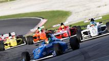 Formula 4 race action
