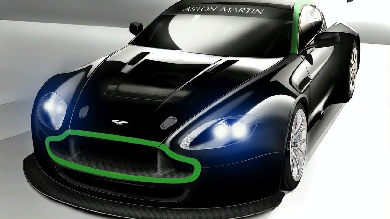 Aston Martin Vantage GT2 Illustration