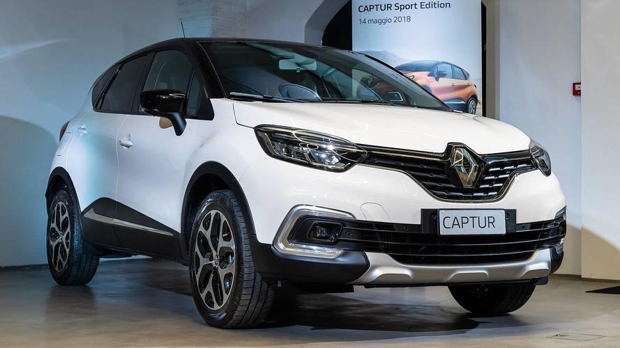 Renault Captur, nuove versioni per il 2018