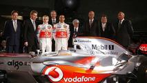2008 Vodafone McLaren Mercedes MP4-23 Formula One car