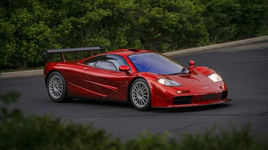 Eladó a valaha készült egyik legritkább McLaren F1
