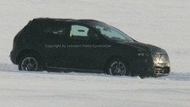 Nissan prototype on winter testing
