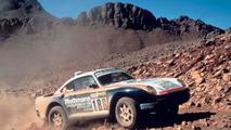 Porsche 959 Paris-Dakar in 1986