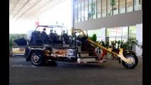 Salão Bike Show: com 9,2 m de comprimento, maior triciclo do mundo está no evento
