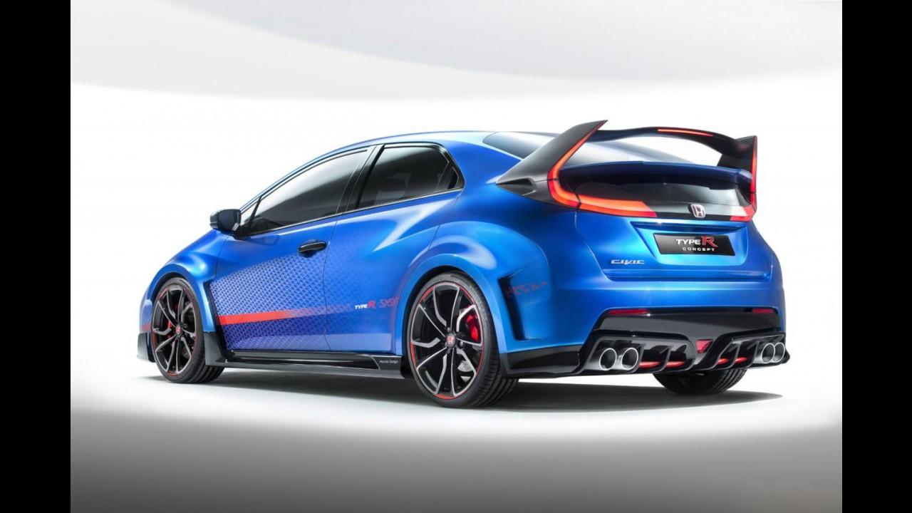 Honda Civic Type R deve custar o equivalente a R$ 120 mil no Reino Unido
