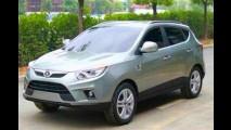 Flagra: Novo SUV JAC SII é fotografado sem camuflagem na China