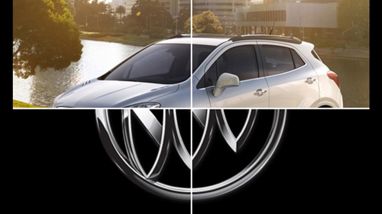 Buick revela nova imagem do crossover Encore