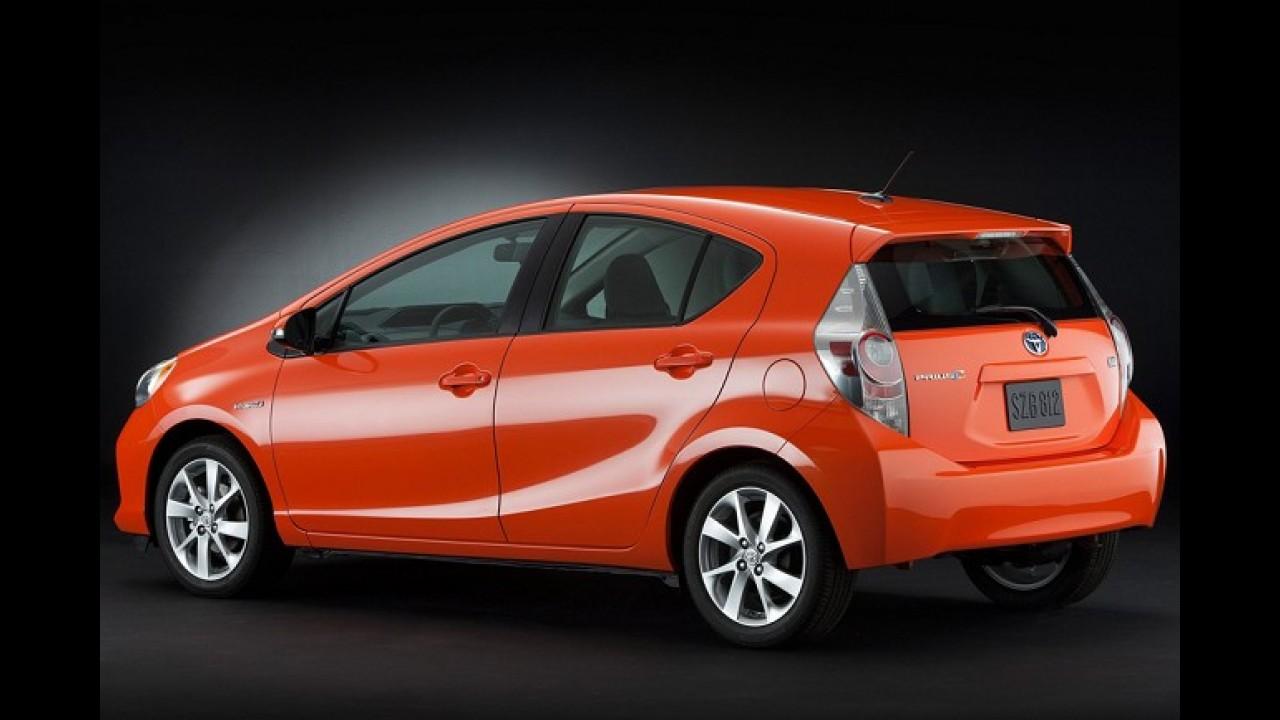 Toyota Prius C é lançado na Malásia: preços começam em R$ 54.640,00