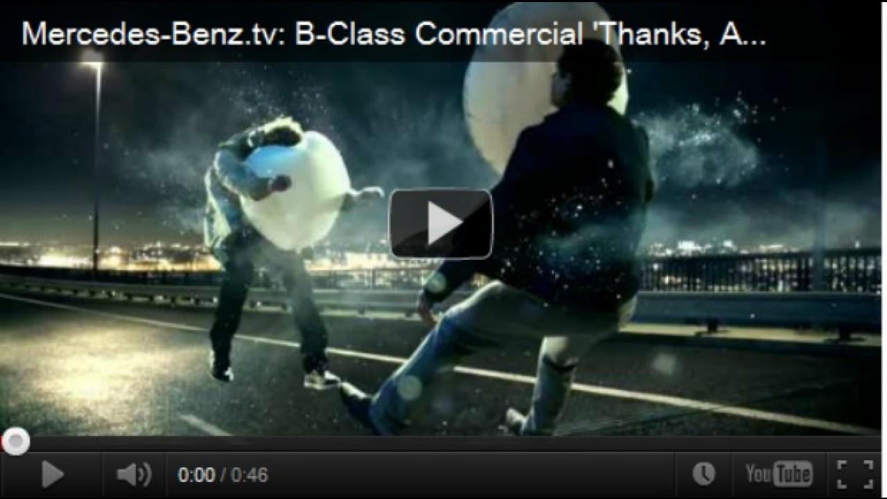 VÍDEO: Mercedes agradece ao airbag