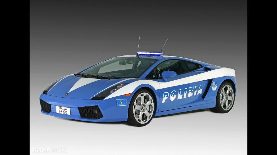 Lamborghini Gallardo Police Car
