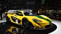 McLaren P1 GTR live in Geneva