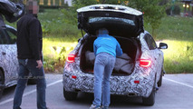 2016 Infiniti QX30 spied with the trunk open