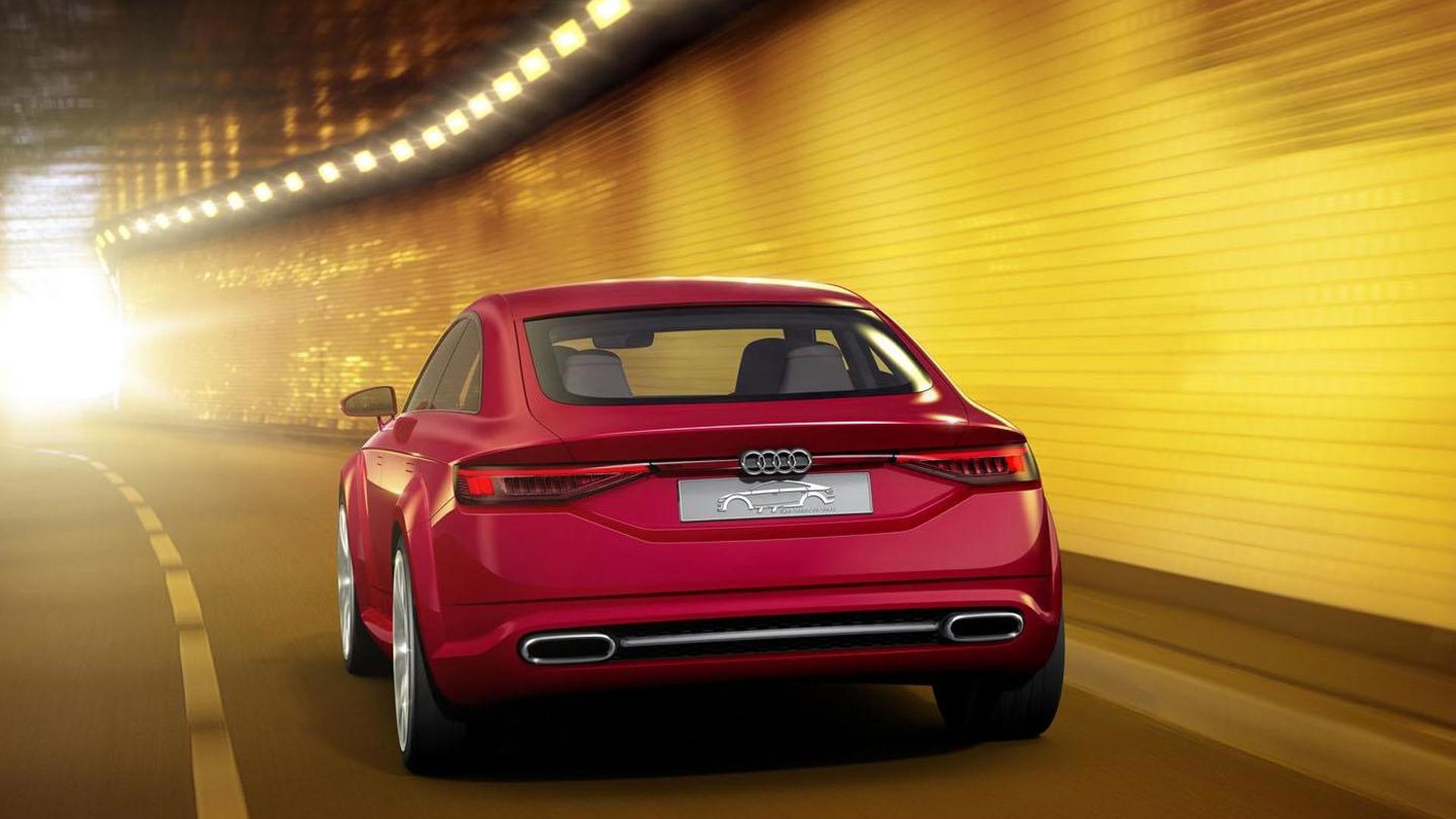 Концепт Audi TT Sportback