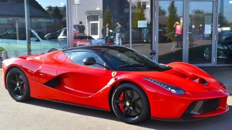 Brand new LaFerrari on sale in Luxembourg for €3 million