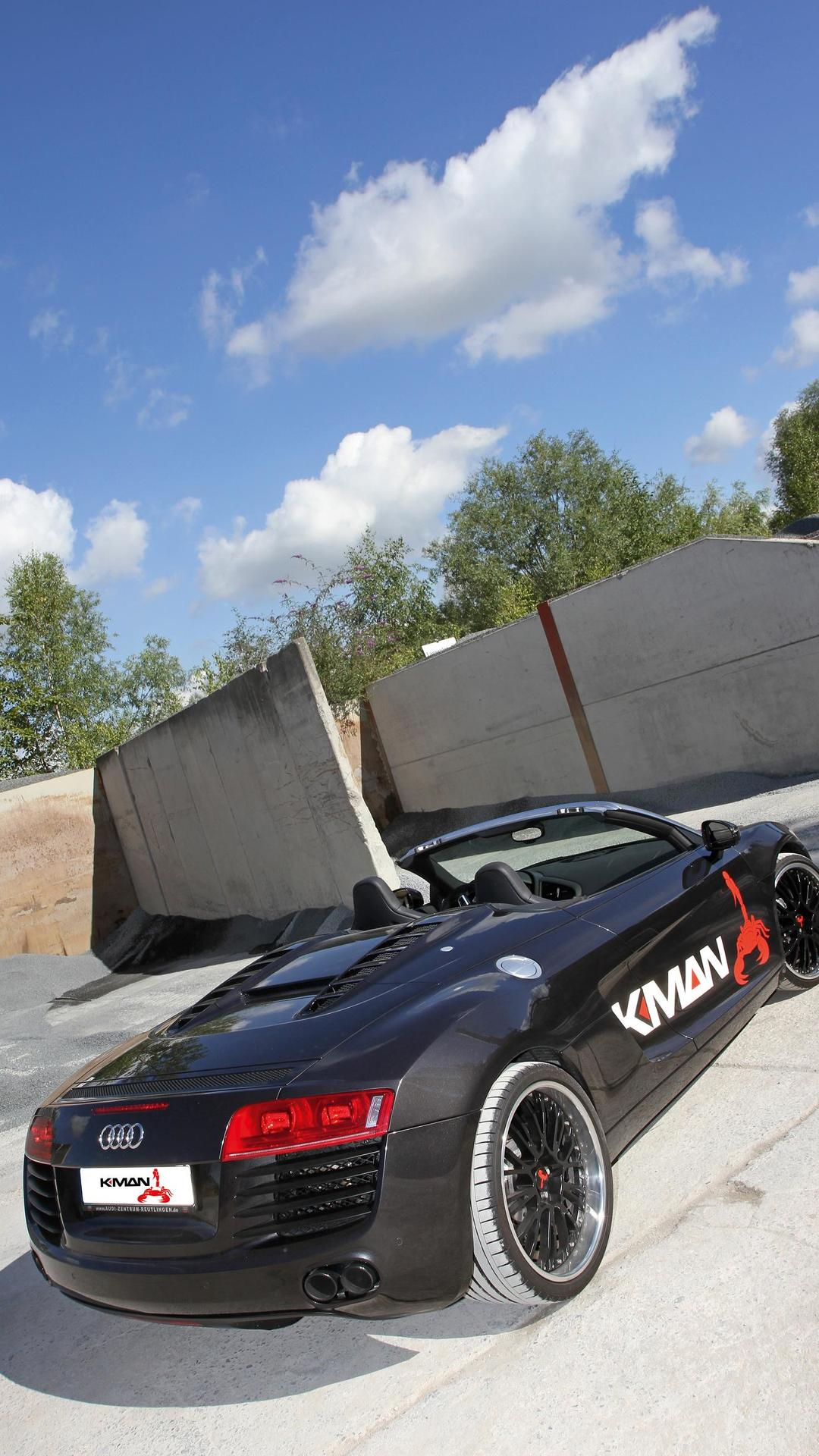 Родстер Audi R8 V10. Тюнинг от K.MAN