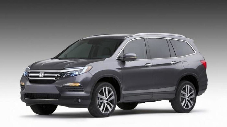 2016 Honda Pilot first official images hit the web