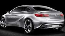 Mercedes-Benz A-Class Coupe render