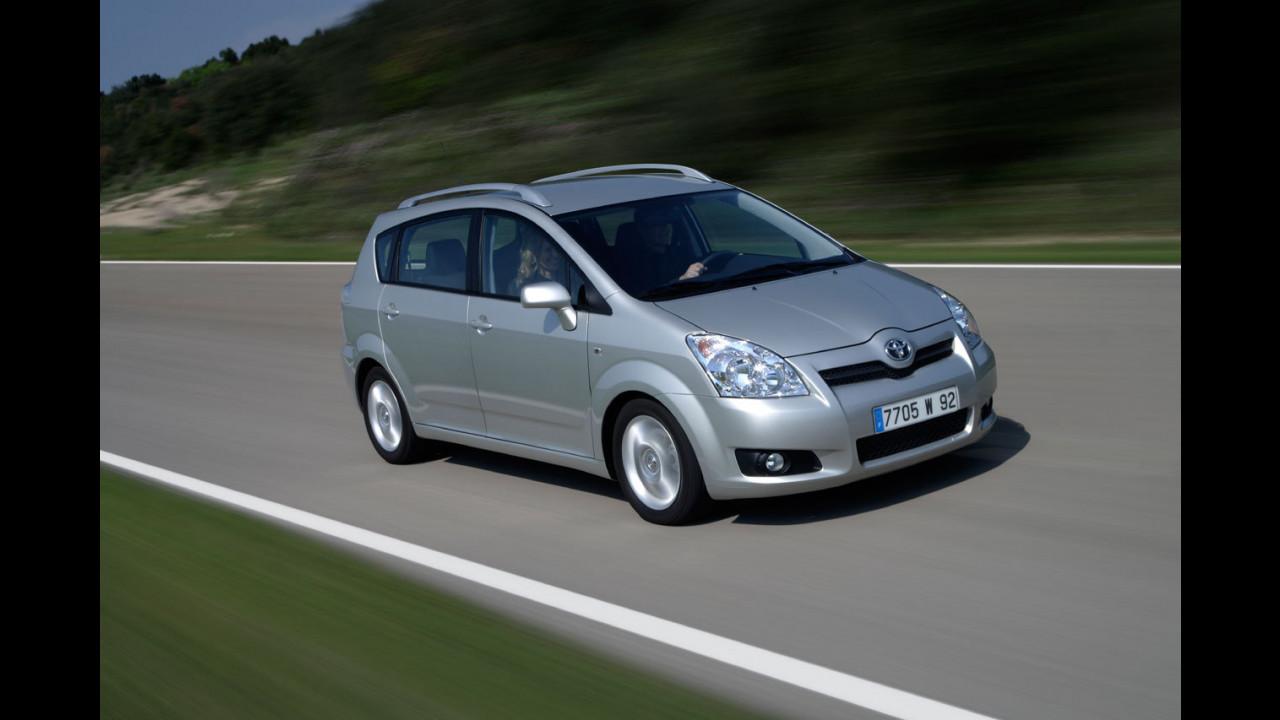 Toyota Corolla Verso restyling