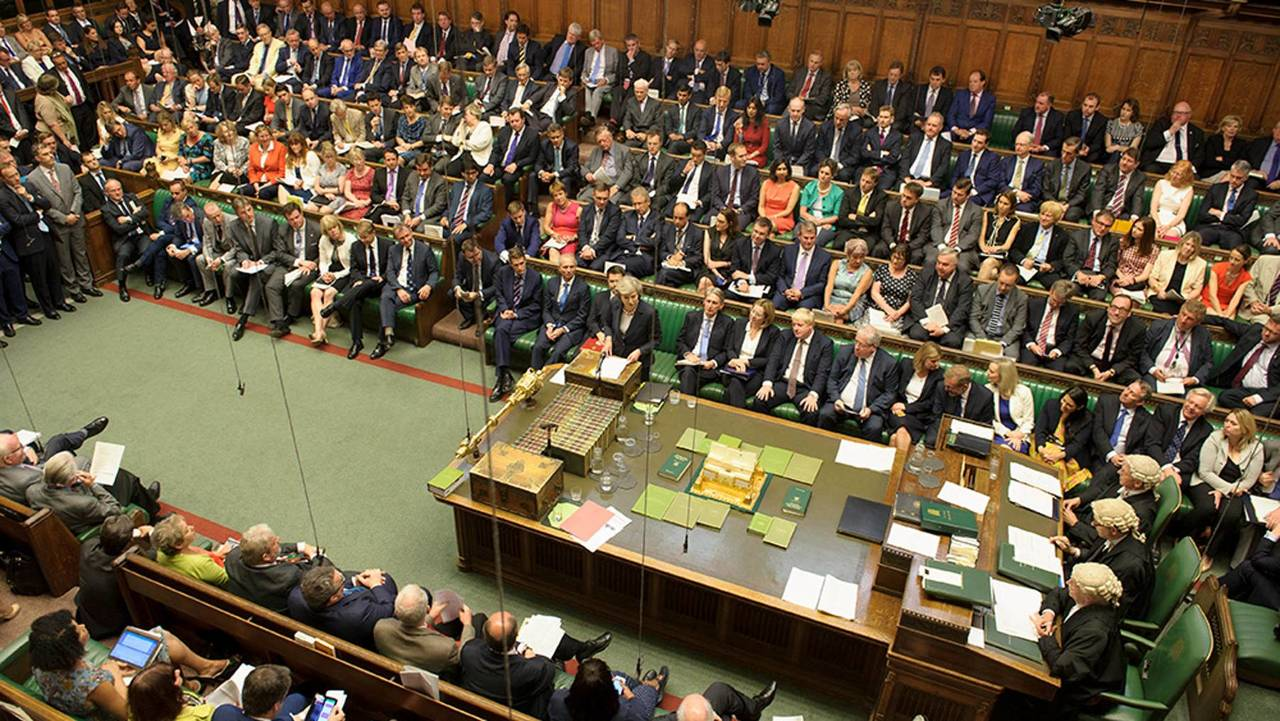 MPs debate issues in the House of Commons chamber