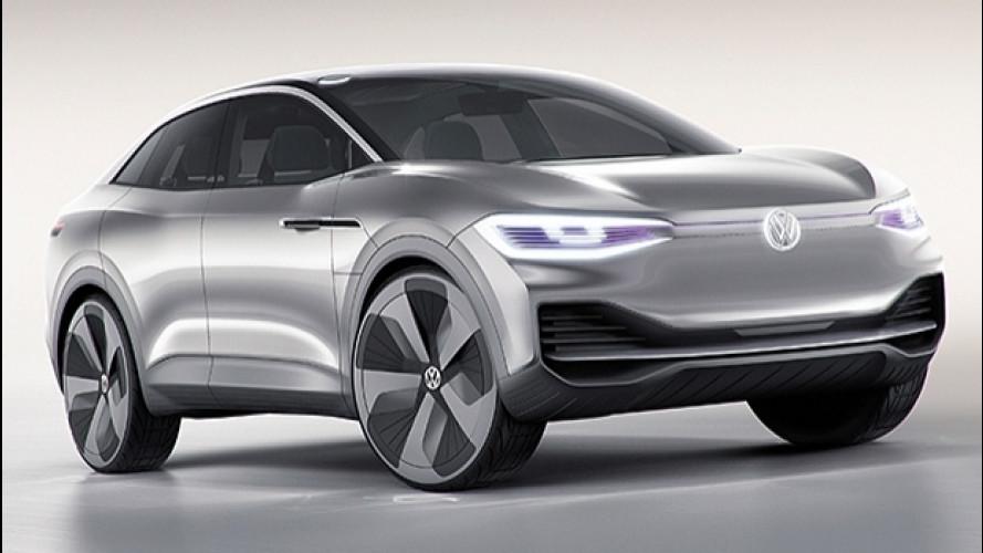 Volkswagen I.D. Crozz, l'elettrica fatta crossover [VIDEO]