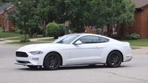 2108 Ford Mustang Avrupa versiyonu casus fotoğrafları