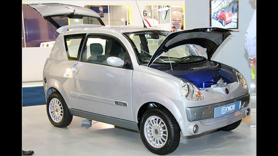 Nice Car mit Elektromotor: Was Kleines für die Stadt