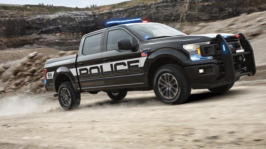 Le nouveau Ford F-150 Police Responder est prêt!