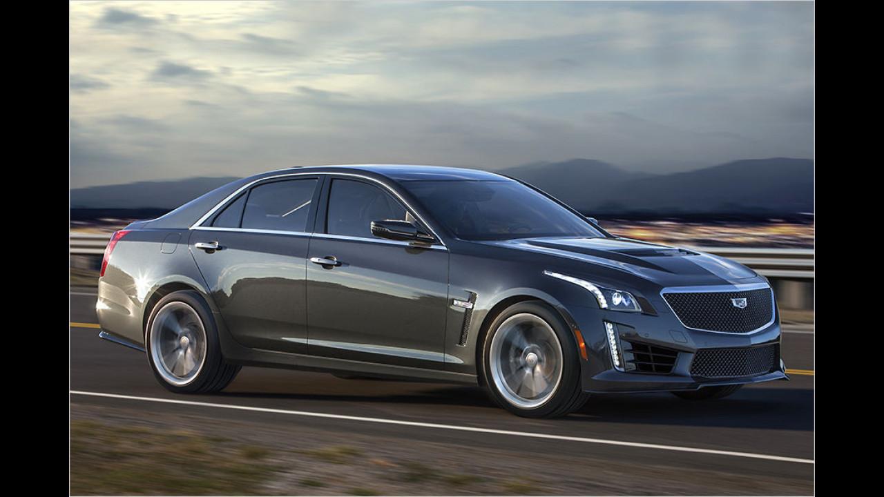Platz 1: Cadillac CTS-V
