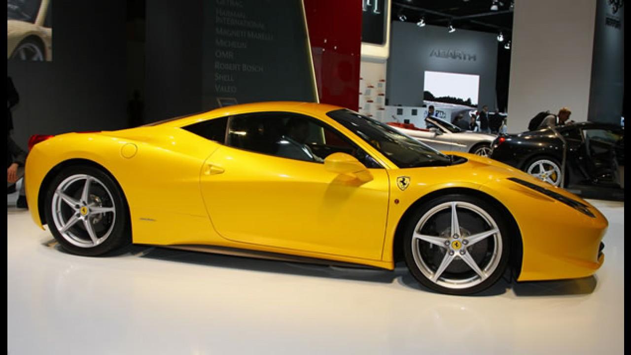 Ferrari 458 Italia custará R$ 502 mil no mercado italiano