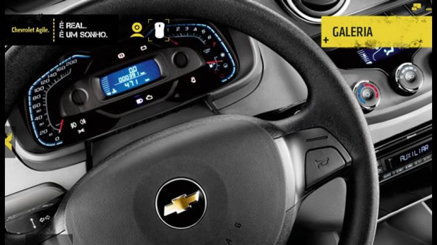 Chevrolet lança hotsite com tecnologia 3D e realidade aumentada para divulgar o Agile