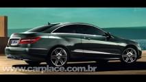 Fotos oficiais do Novo Mercedes-Benz Classe E Coupé 2010 vazam na internet