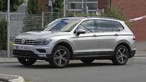 2017 Volkswagen Tiguan LWB casus foto