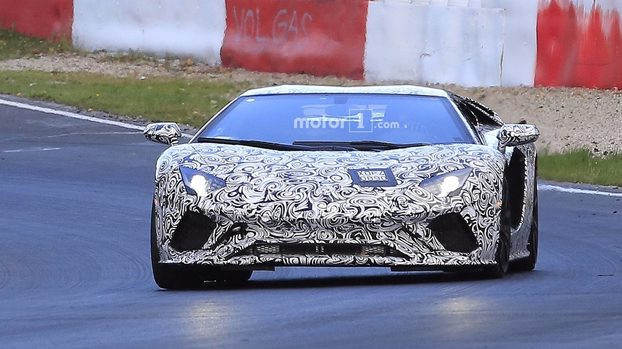 2018 lamborghini car. beautiful lamborghini 2018 lamborghini aventador facelift throughout lamborghini car