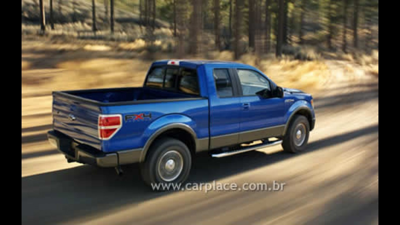 Salão de Detroit 2008: Ford mostra nova Pick-up F150 2009