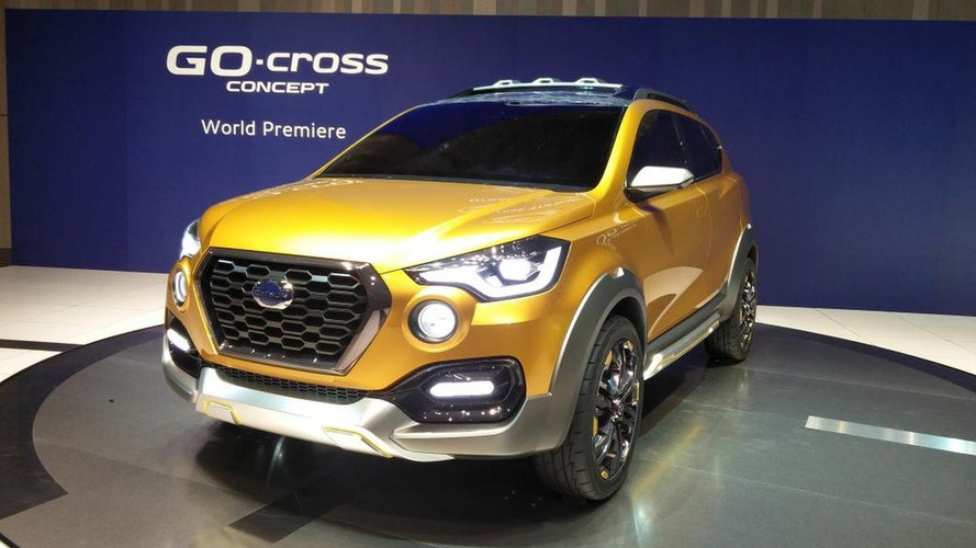 Datsun GO-Cross concept previews possible future SUV in Tokyo