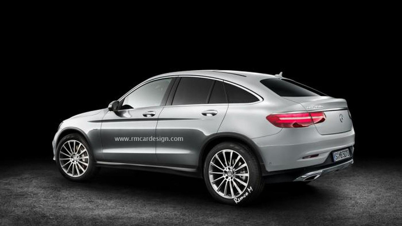 mercedes benz glc coupe render is probably very close to reality. Black Bedroom Furniture Sets. Home Design Ideas