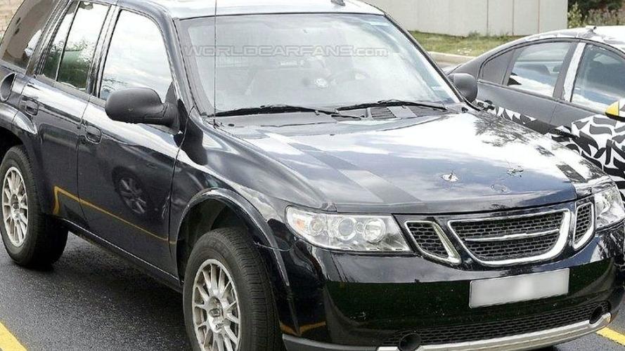 2010 Saab 9-4x Test Mule Spotted
