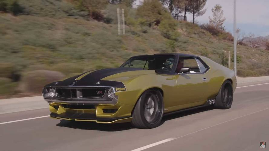 This Awesome AMC Javelin Is A Custom-Built 1,100-HP Dream Machine