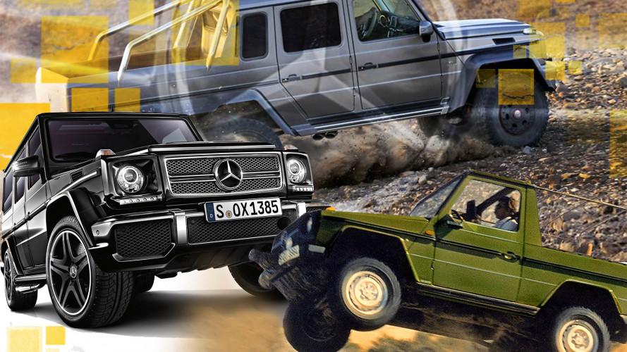 Mercedes G: Kantiger Kult