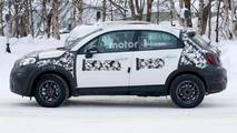 Facelifted Fiat 500X spied
