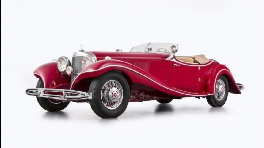 Mercedes, l'incredibile storia della 500K Special Roadster rossa