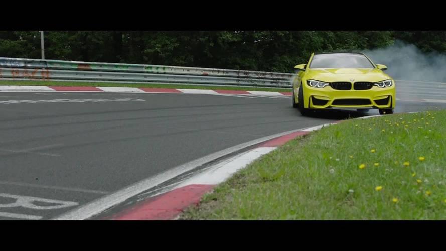 BMW M4 CS Pennzoil