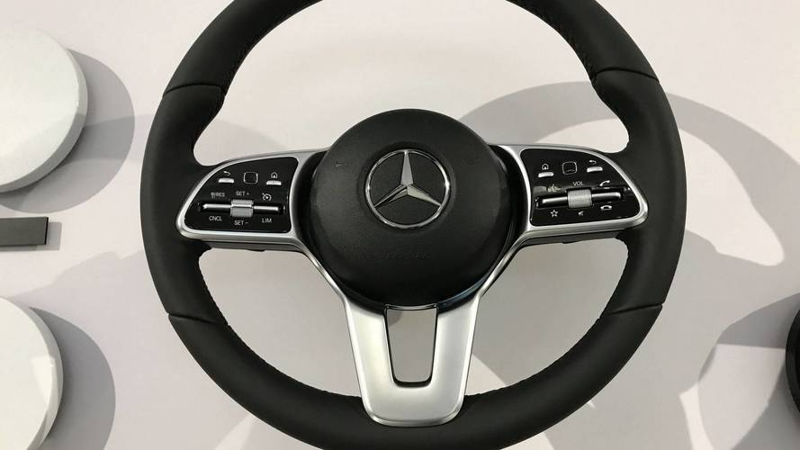 These 2018 Mercedes-Benz A-Class Steering Wheels Tell Us A Lot